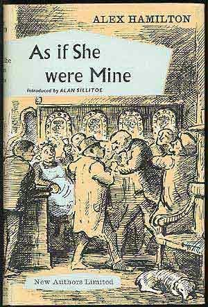 book cover of As If She Were Mine