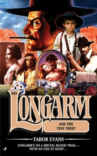 book cover of Longarm and the Tiny Thief