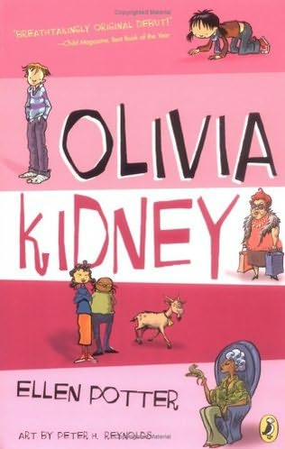 Olivia Kidney (Olivia Kidney, book 1) by Ellen Potter