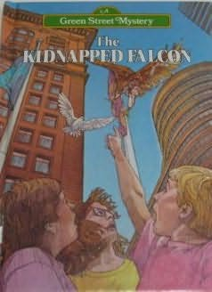 book cover of The Kidnapped Falcon