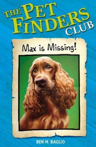 book cover of Max Is Missing