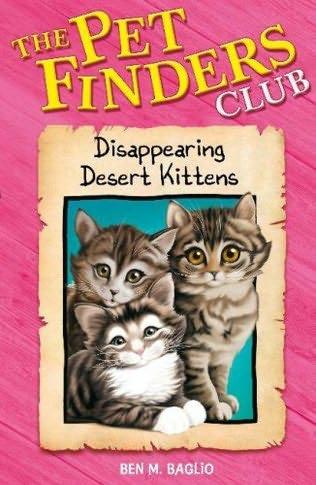 book cover of Disappearing Desert Kittens