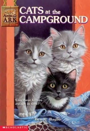book cover of Cats At the Campground