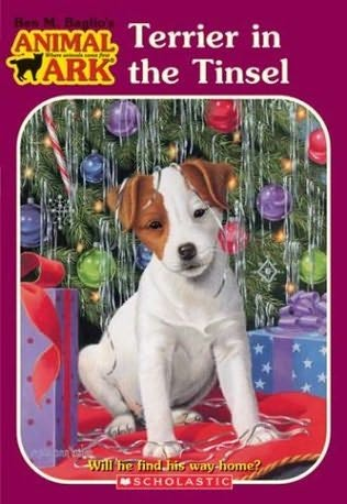 book cover of Terrier in the Tinsel