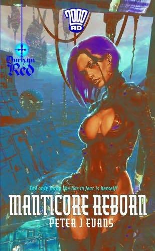 book cover of Manticore Reborn