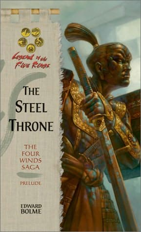 book cover of Steel Throne