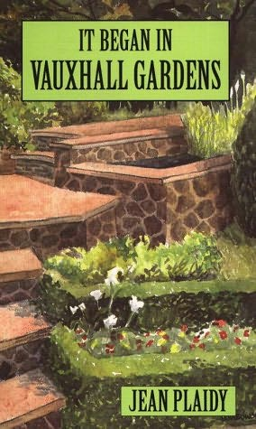 book cover of It Began in Vauxhall Gardens
