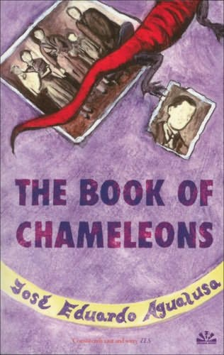 book cover of The Book of Chameleons