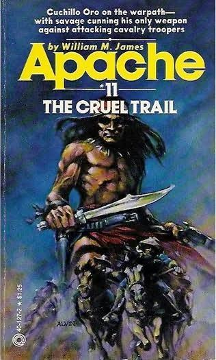 book cover of The Cruel Trail