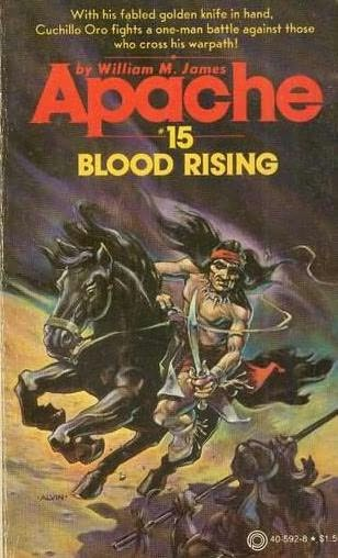 book cover of Blood Rising