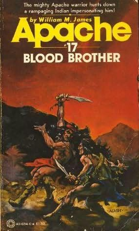 book cover of Blood Brother