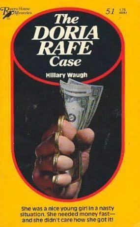 book cover of The Doria Rafe Case