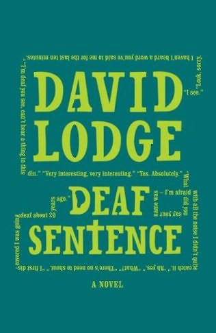 book cover of Deaf Sentence byDavid Lodge
