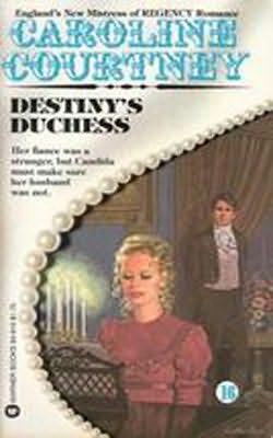 book cover of Destiny\'s Duchess
