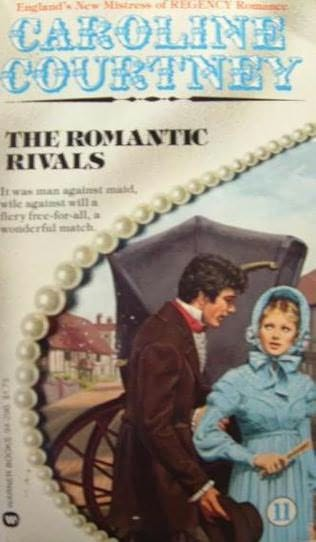 book cover of The Romantic Rivals