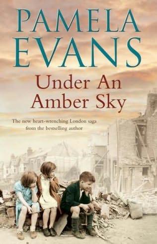 Under An Amber Sky By Pamela Evans border=
