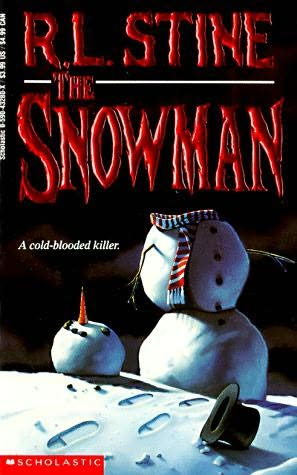 book cover of The Snowman by R L Stine