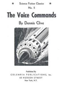 book cover of The Voice Commands