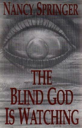 book cover of The Blind God is Watching