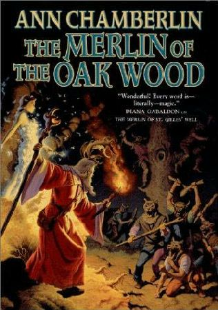 book cover of The Merlin of the Oak Wood