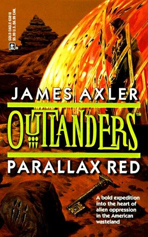 book cover of Parallax Red