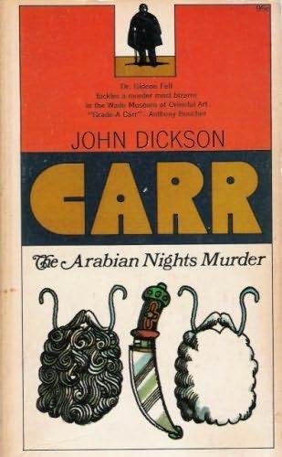 book cover of The Arabian Nights Murder