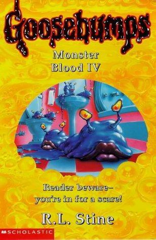 goosebumps monster blood 4 book cover of monster blood iv