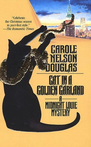 book cover of Cat in a Golden Garland
