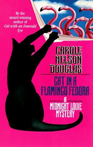 book cover of Cat in a Flamingo Fedora