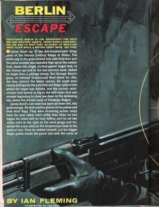 book cover of Berlin Escape