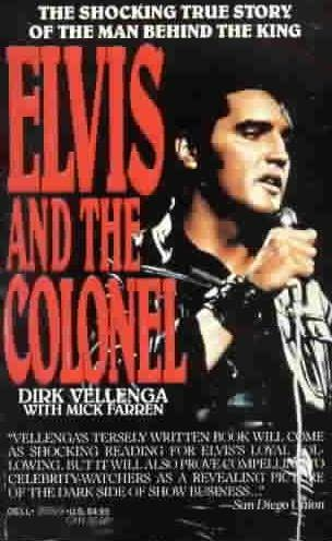 book cover of Elvis and the Colonel
