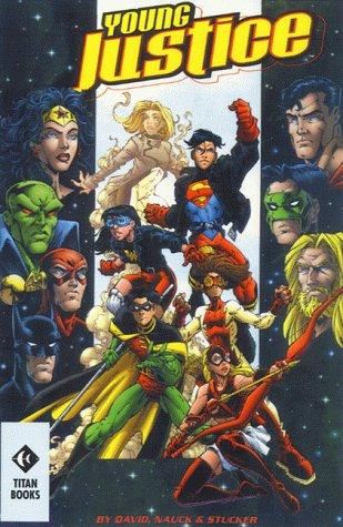 book cover of Young Justice: A League of Their Own (Spyboy) by Peter