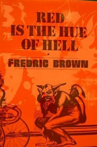 book cover of Red Is the Hue of Hell