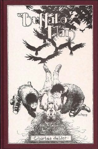book cover of The Buffalo Man
