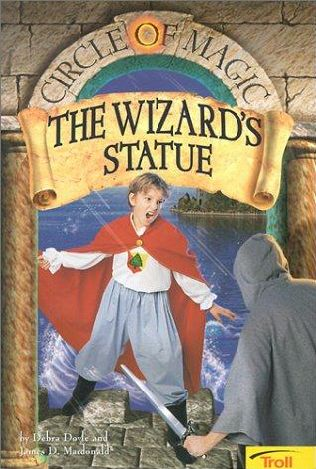 book cover of The Wizard\'s Statue
