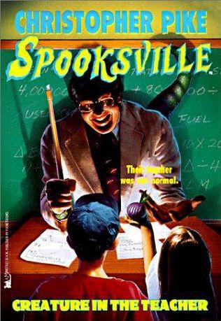 book cover of Creature in the Teacher