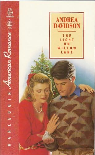 book cover of The Light on Willow Lane