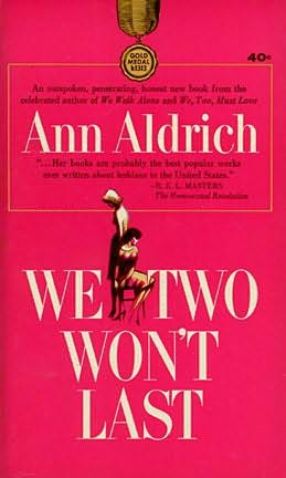 book cover of We Two Won\'t Last
