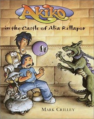 book cover of Akiko in the Castle of Alia Rellapor