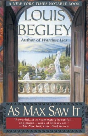 book cover of As Max Saw It