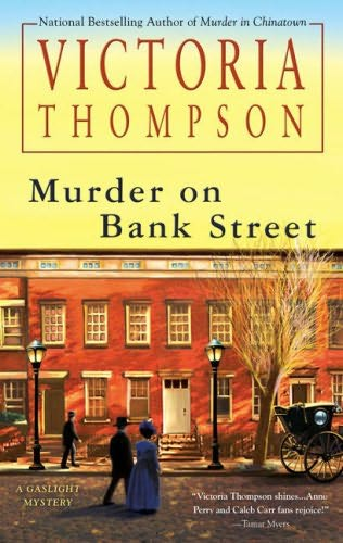 book cover of Murder on Bank Street