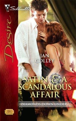 book cover of Satin & a Scandalous Affair