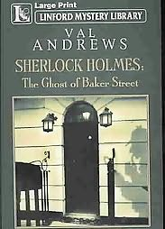 book cover of The Ghost of Baker Street