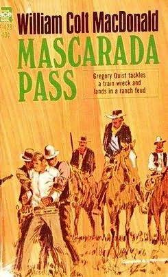 book cover of Mascarada Pass