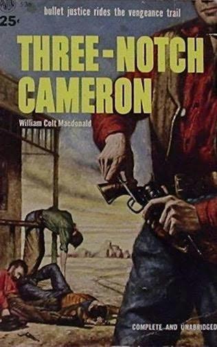 book cover of Three-notch Cameron