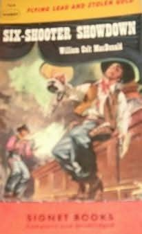 book cover of Six-Shooter Showdown