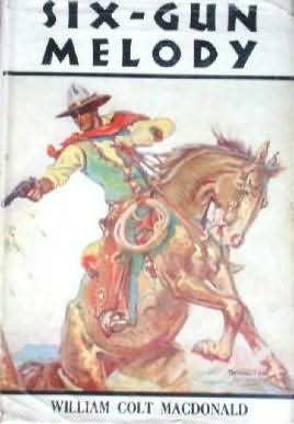 book cover of Six-Gun Melody