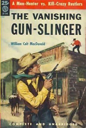 book cover of The Vanishing Gun-Slinger