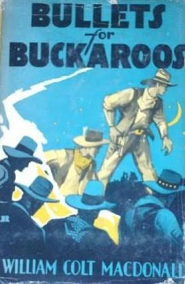 book cover of Bullets for Buckaroos