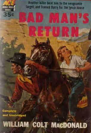 book cover of Bad Man\'s Return